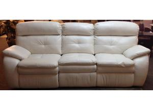 Alabaster Reclining Sofa